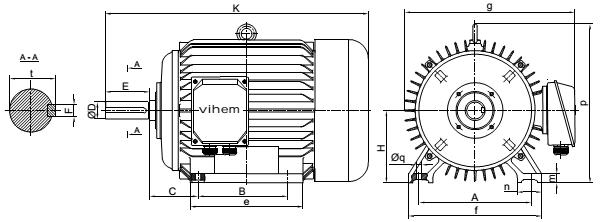 Chế tạo động cơ điện 3 pha Việt Hung
