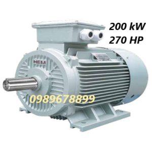 Mô tơ 200 kW 270 HP
